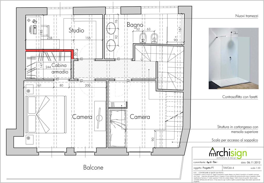 Progetto di interior design volvera to archisign - Progetti interior design ...